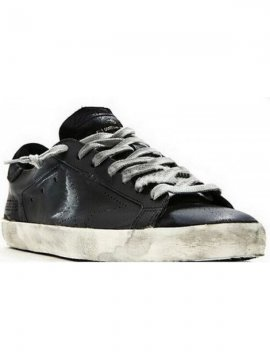 Black Superstar Sneakers