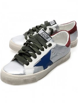 Blue White Red Superstar Sneakers