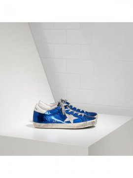 Blue White Superstar Sneakers