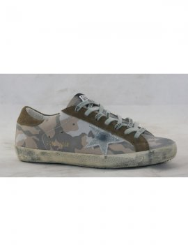 Camo Brown Superstar Sneakers