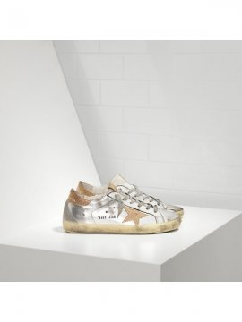 Gold Silver Superstar Sneakers