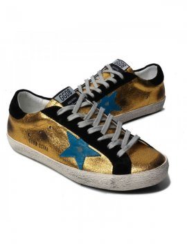 Gold Superstar Sneakers