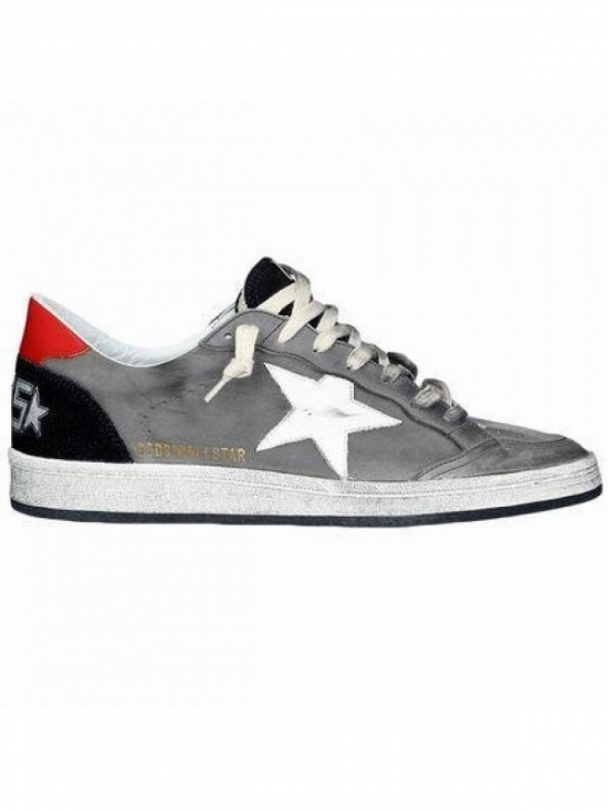 Gray Ball Star Sneakers