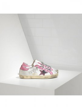 Pink White Superstar Sneakers