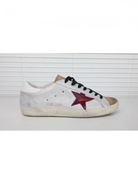 Red Superstar Sneakers