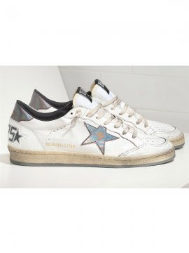 Silver Ball Star Sneakers