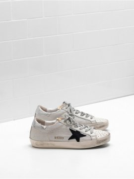 Silver Gray Superstar Sneakers