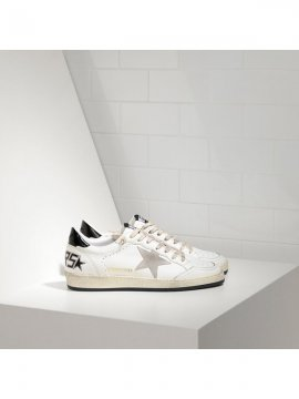 White Ball Star Sneakers