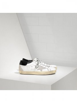 White Black Superstar Sneakers