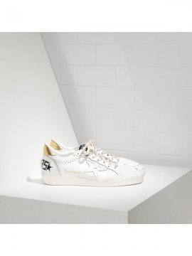 White Gold Ball Star Sneakers