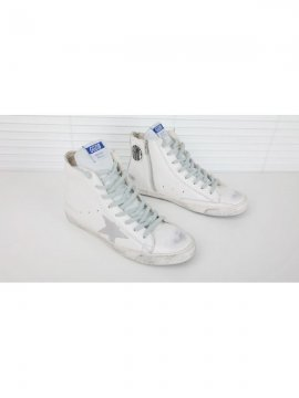 White Silver Francy Sneakers