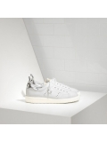 White Silver Starter Sneakers