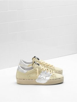 White Yellow Hi Star Sneakers