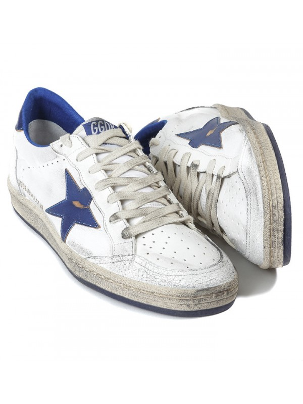 Blue White Ball Star Sneakers