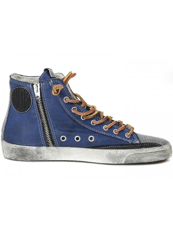 Blue White Francy Sneakers